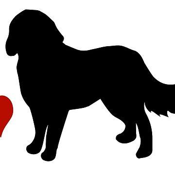 Bernese Mountain Dog by Vectorqueen