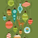 Mid Century Ornaments - Traditional by latheandquill