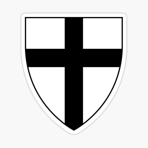 Armoiries de l'ordre teutonique Sticker
