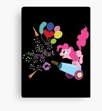 Pinkie Pie Cannon! Canvas Print