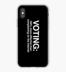 Voting iPhone Case
