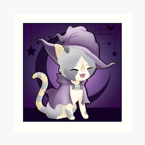 Katasha Witch Art Print