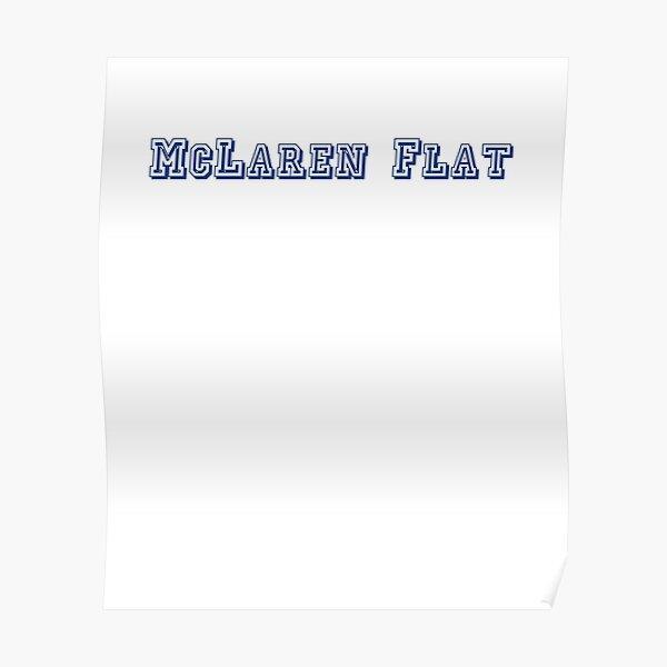 McLaren Flat Poster