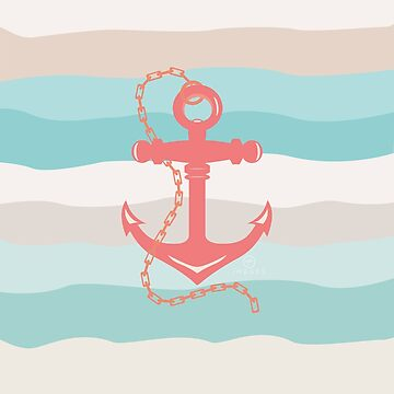 AFE Coral Anchor Nautical by afeimages1