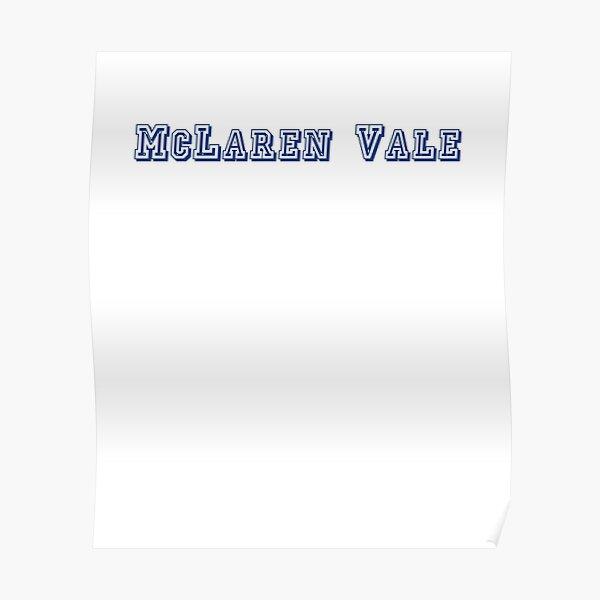 McLaren Vale Poster
