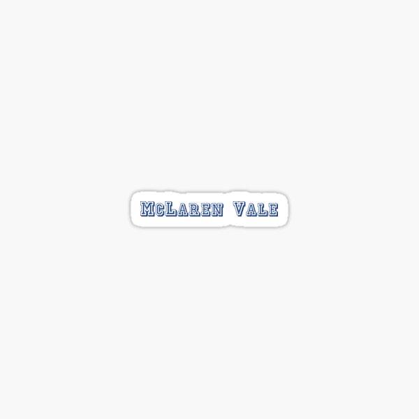 McLaren Vale Sticker