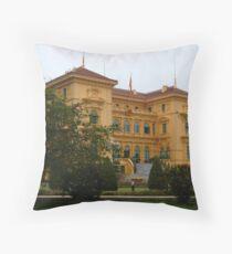 Presidential Palace, Hanoi Throw Pillow
