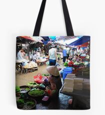 Markets, Hoi An Tote Bag