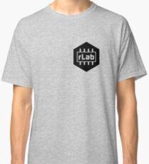 rLAB black and white logo  Classic T-Shirt