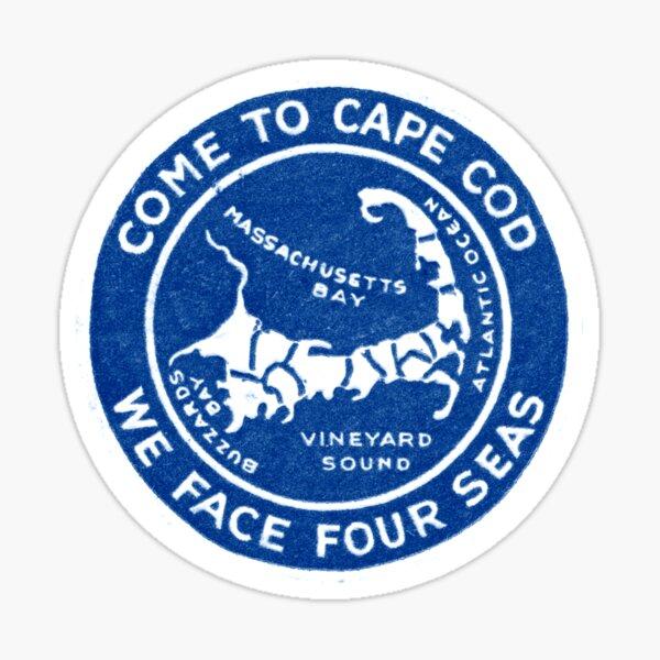 1910 Come to Cape Cod Sticker