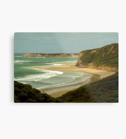 South Side of Bells Beach Metal Print