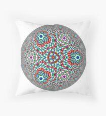 Noneuclidean Quasi-Ukrainian Mandala #131 Floor Pillow