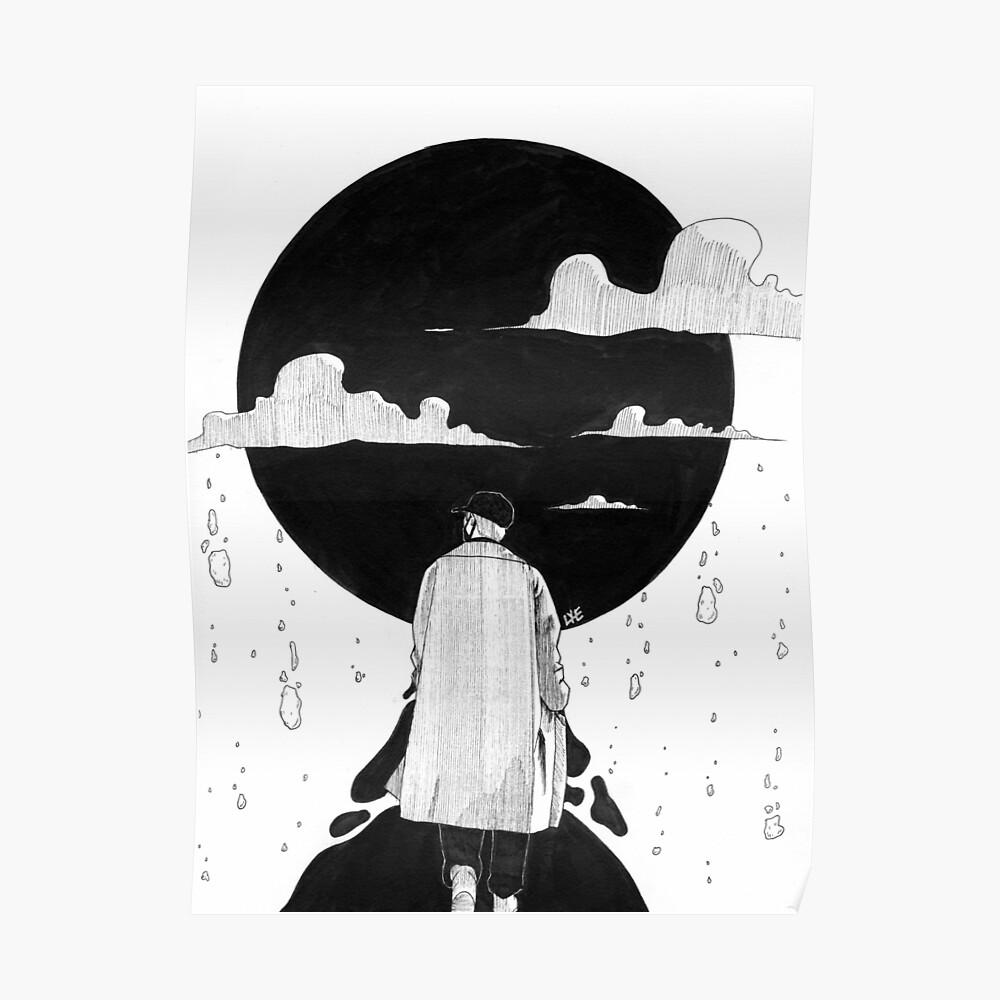 für immer Regen Poster