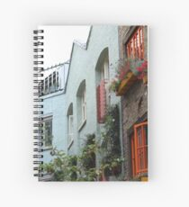The colourful houses of Neil's Yard, London Spiral Notebook