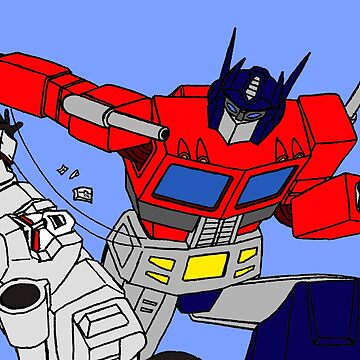 optimus prime & megatron by CraigMatthews