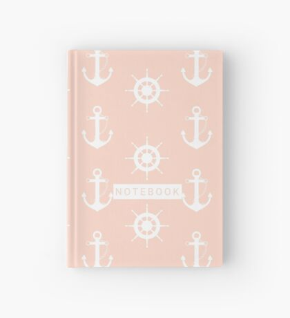 AFE Anchor and Helm Wheel Hardcover Journal