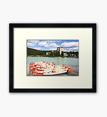 Lake Louise, Alberta, Canada Framed Print
