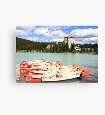 Lake Louise, Alberta, Canada Canvas Print