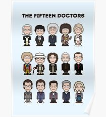 The Fifteen Doctors Poster