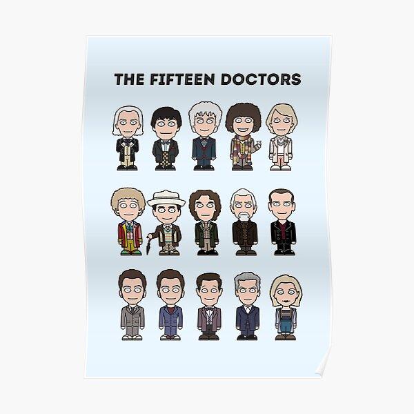 The Fifteen Doctors Poster