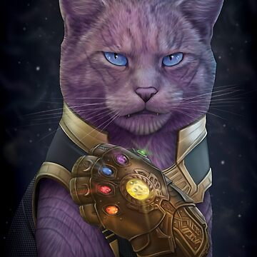 Thanmeows and the Infinity Paw by jennyparks