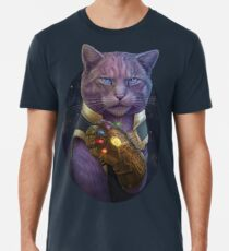 Thanmeows and the Infinity Paw Premium T-Shirt