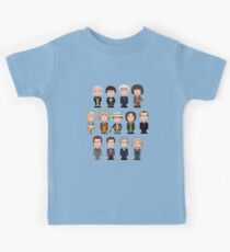 The Thirteen Doctors Kids Tee