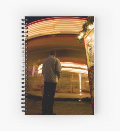 Time Warp Spiral Notebook