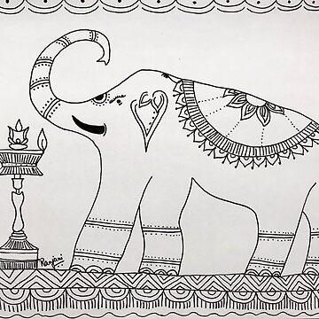 Madhubani by ranjaniart
