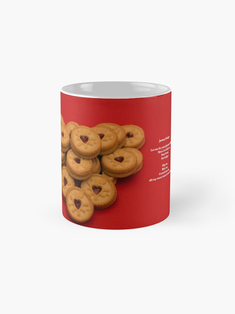 Alternate view of Sweet Poems With pictures - Jammy Dodgers Mug