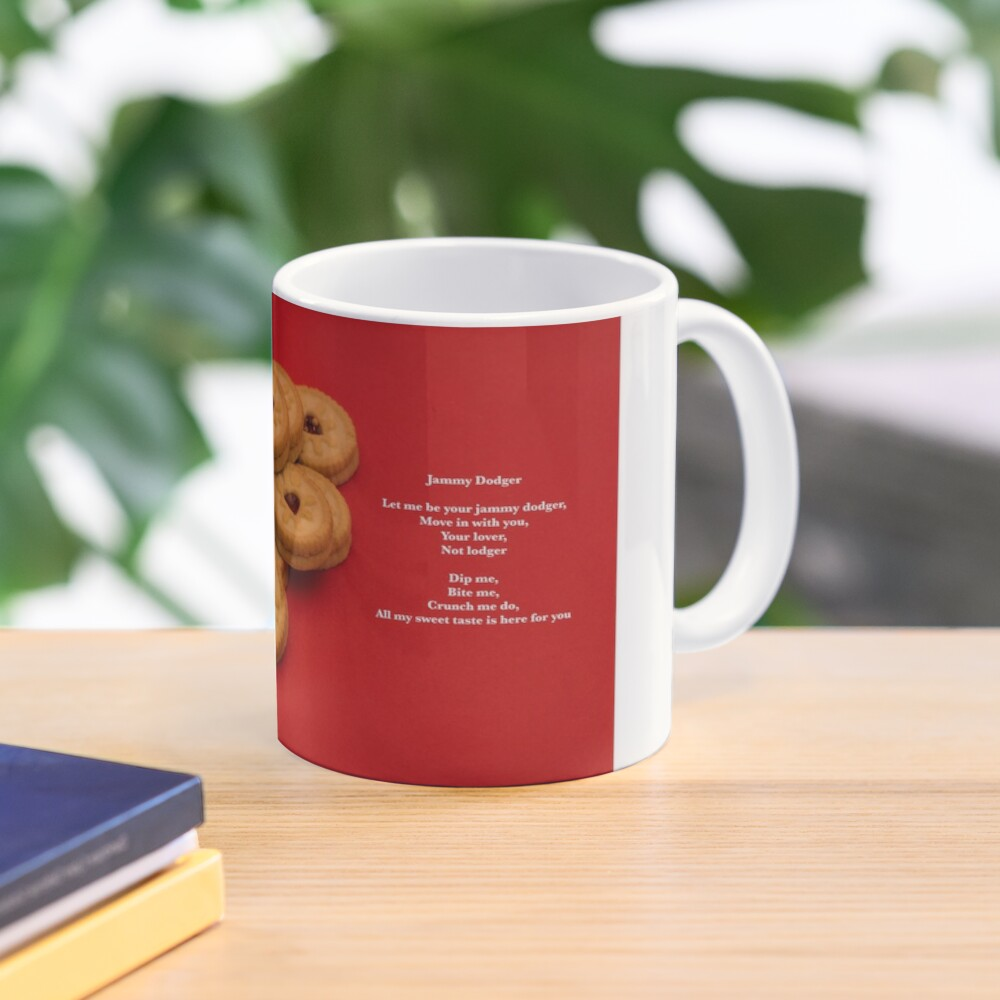 Sweet Poems With pictures - Jammy Dodgers Mug