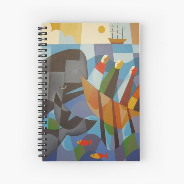 TASMANIAN WHALERS 1830 Spiral Notebook