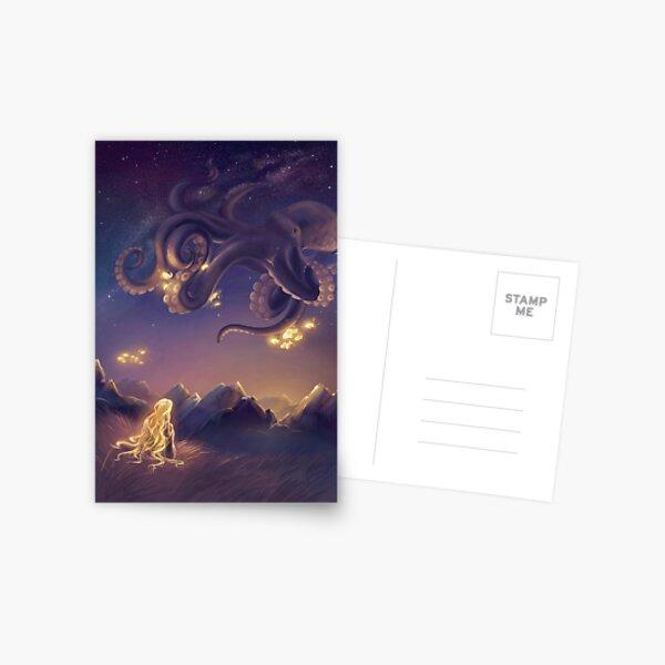 Octopus's garden Postcard