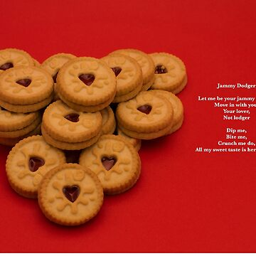 Sweet Poems With pictures - Jammy Dodgers by AlanOrgan
