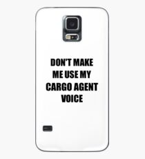 Cargo Agent Gift for Coworkers Funny Present Idea Case/Skin for Samsung Galaxy