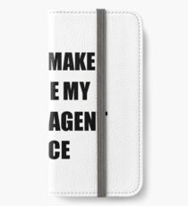 Cargo Agent Gift for Coworkers Funny Present Idea iPhone Wallet/Case/Skin