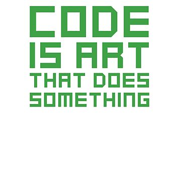 Code Is Art That Does Something by dmanalili