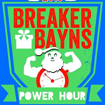 Power Hour Limited Edition Christmas Logo 2018 by BBPH