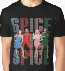 Spice Girls 'SPICE' - Spice World Tour 2019 (Spiceworld Logo 2) Graphic T-Shirt