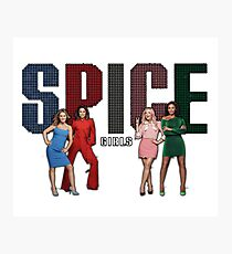 Spice Girls - Spice World Tour 2019 (Spiceworld Logo 1) Photographic Print