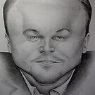 Leonardo DiCaprio by Bridie Flanagan