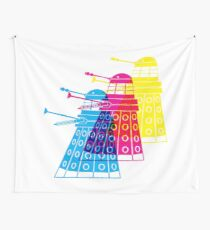 Cursed Daleks Wall Tapestry