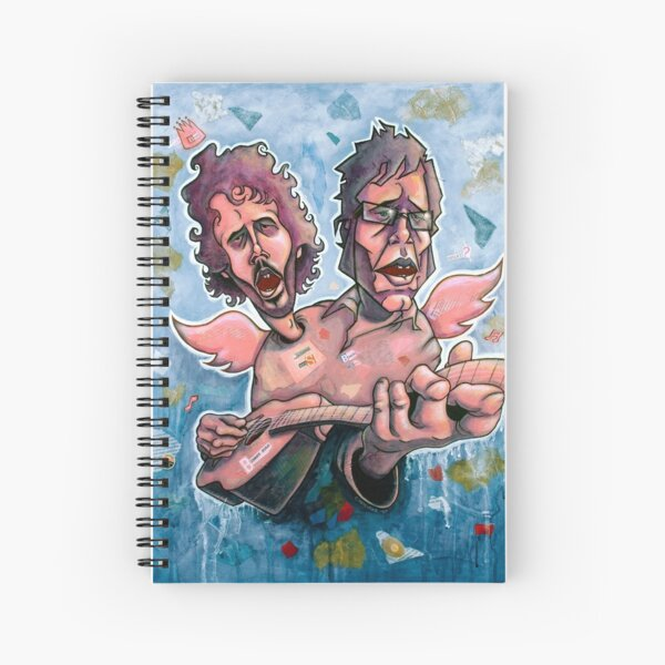 Bret and Jemaine Spiral Notebook