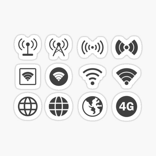 Internet Worldwide  Sticker