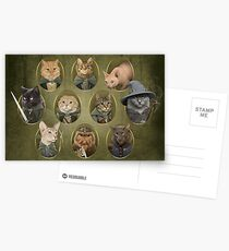 Cat of the Rings Postcards