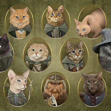 Cat of the Rings by jennyparks