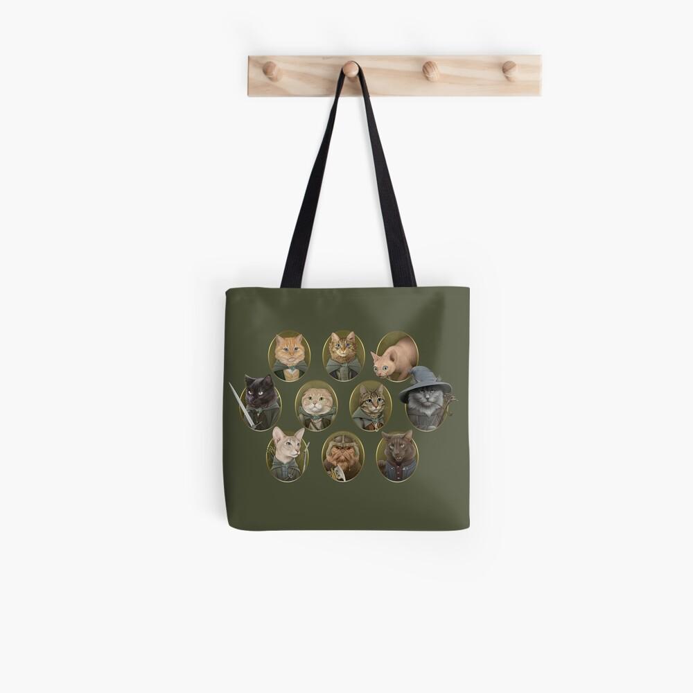 Katze der Ringe Stofftasche