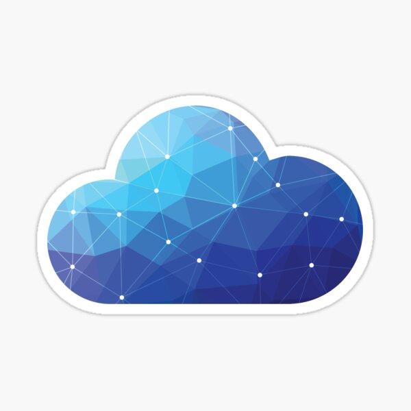 Cloud Of Data  Sticker