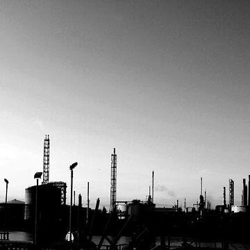 Industrial Skyline by sbland