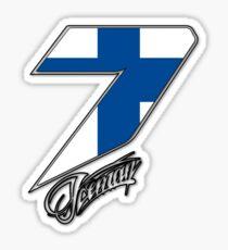 Kimi Räikkönen 7 Sticker